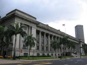 Здание ратуши (Сити Холл) в Сингапуре